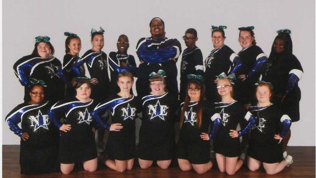 WATCH: Special Needs Cheerleaders go above and beyond