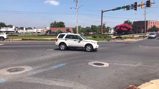 WATCH: City plans a traffic circle for a busy intersection