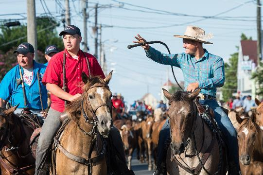 WATCH: Scenes from Chincoteague's Pony Parade