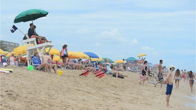 The beach season has been calm so far for lifeguards, but they know the worst is yet to come.