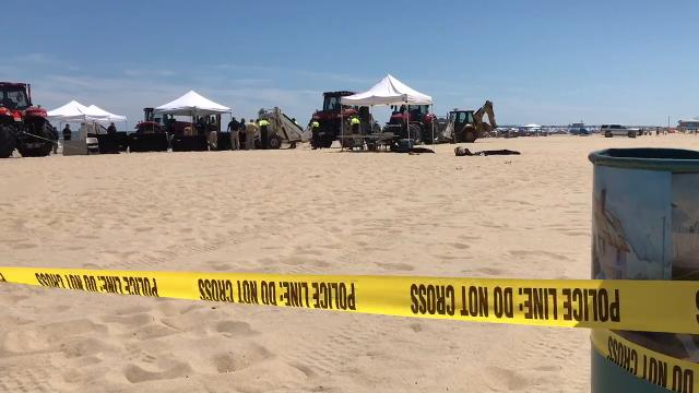 WATCH: Footage from a body investigation in Ocean City