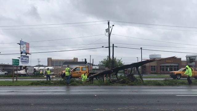 WATCH: More footage from possible Salisbury tornado