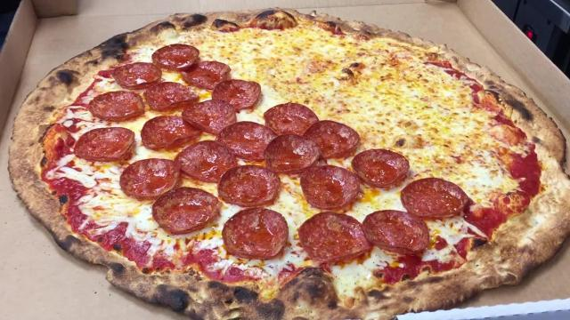 Ripieno's in Ocean City tests the limits with its huge pizza
