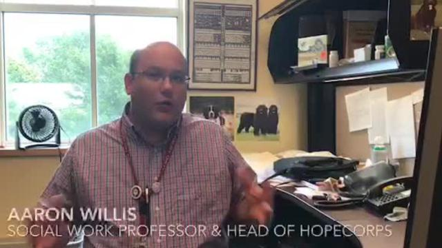WATCH: Salisbury University professor explains HOPECorps mission