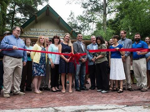 WATCH: Salisbury Zoo cuts ribbon for new conservation center