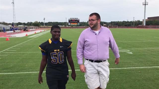 Sports reporter Rick Pollitt talks to Wi-Hi's Sylvens Mondestin about football and life.