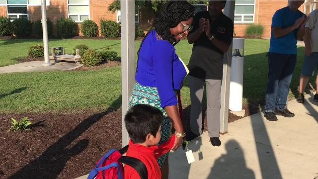 WATCH: Million Father March comes to Somerset school