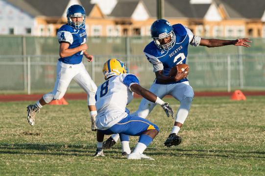 WATCH: Stephen Decatur football team storm the field