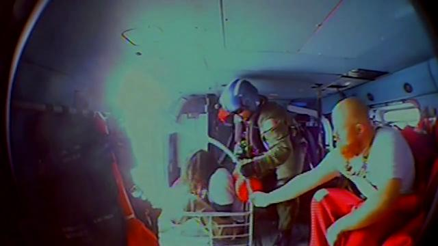 WATCH: Coast Guard Rescue off Cape Charles