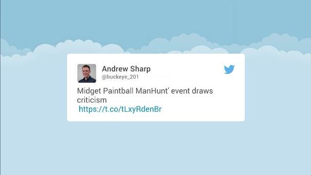 """The Oasis Bar 'N' Grill has scheduled """"Midget Paintball Manhunt"""" to coincide with Bike Week."""