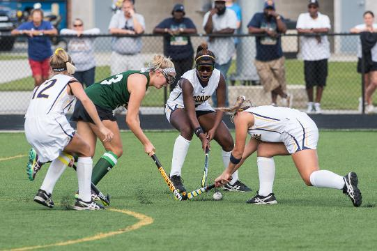WATCH: Pocomoke field hockey gets ready to play