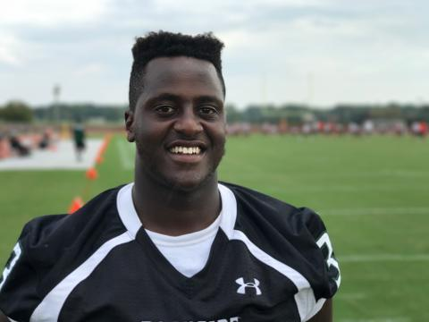 WATCH: 100 yards with Ernest Ayieko