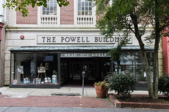 Bradley Gillis talks about the future of the Powell Building, which was once a Montgomery Ward.