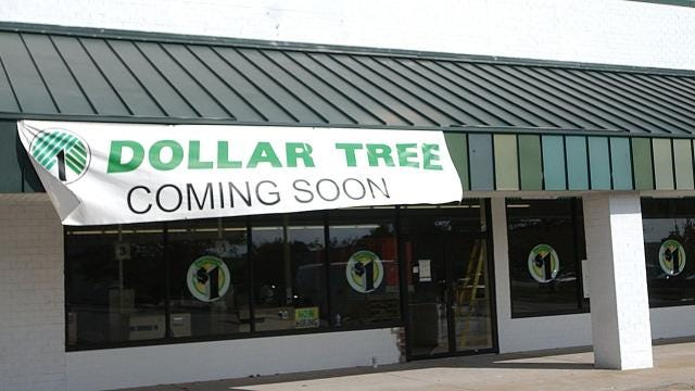 Dollar stores are popping up on street corners across Delmarva, swimming against the retail sector's falling tide.