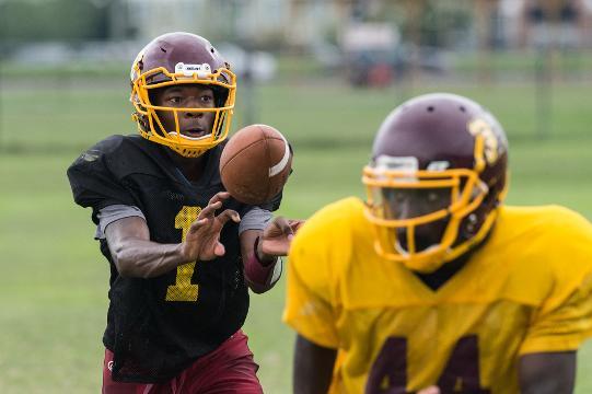 Washington High School quarterback Eric Ballard talks about sports and life.