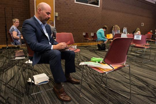 WATCH: United Way poverty simulation