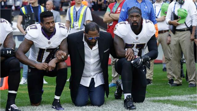 On Sunday, President Donald Trump called for NFL fans to boycott the organization until the owners fire or suspend players who kneel during the national anthem. What you do if it happened here?