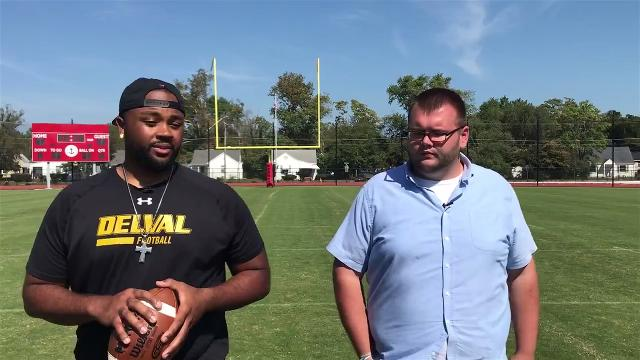 Local football player Rob Reed talks about his recent signing with a National Arena League team.