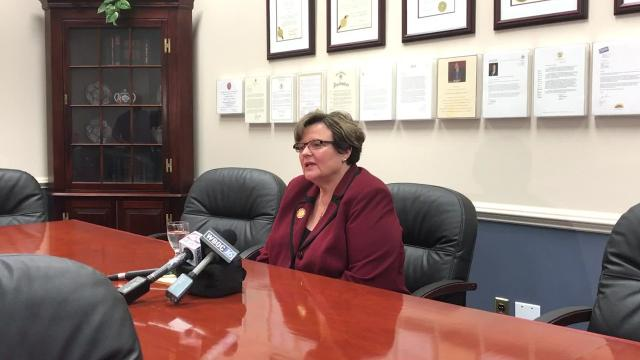 WATCH: SU President Janet Dudley-Eshbach stepping down as of Spring 2018