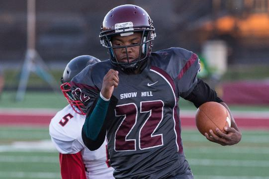 Snow Hill football player A-Monty Allen talks about sports and life.