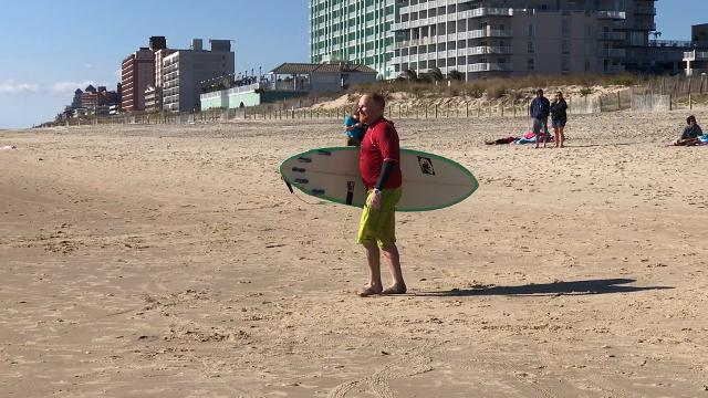 Delmarva Eastern Surfing Association held the Maryland State Surfing Championships on Saturday, Sept. 30, 2017 on the beach at 36th street in Ocean City, Md.