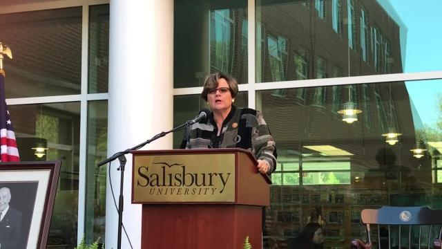WATCH: Dudley-Eshbach discusses Henson Foundation's $2.5M gift to SU
