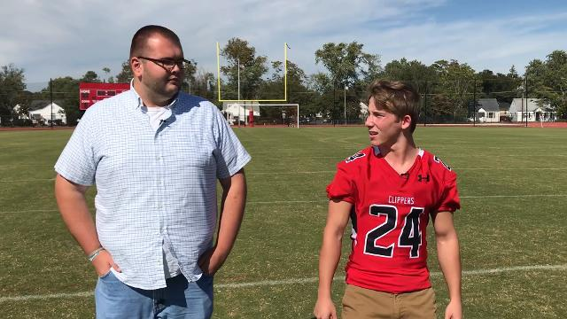 JMB football player Stephen Sabo talks about sports and life.