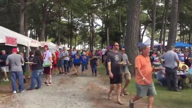 WATCH: 45th Annual Chincoteague Oyster Festival