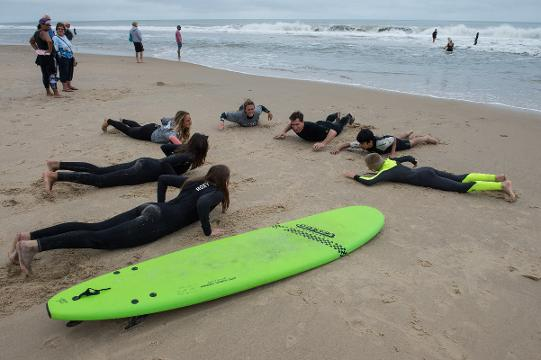 WATCH: Local surfers teach youth about integrity