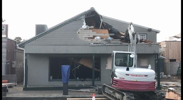 WATCH: Original Dogfish Head brew pub gets demolished