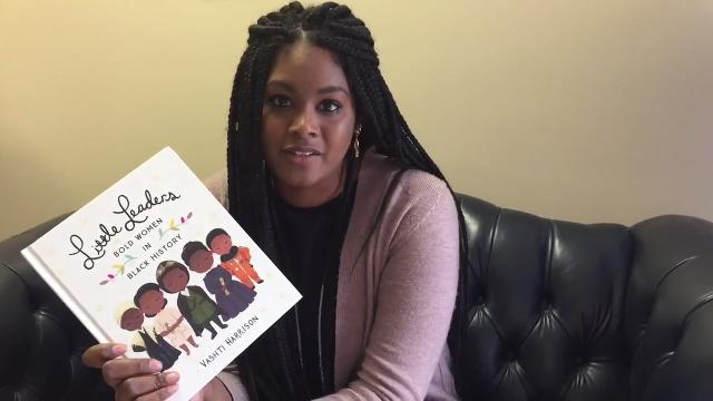 Illustrator and author Vashti Harrison, who grew up in Accomack County, has her first book coming out in December. It's a children's book about 40 black women leaders.
