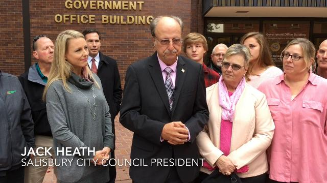 Watch: Jack Heath announces he will run for county executive