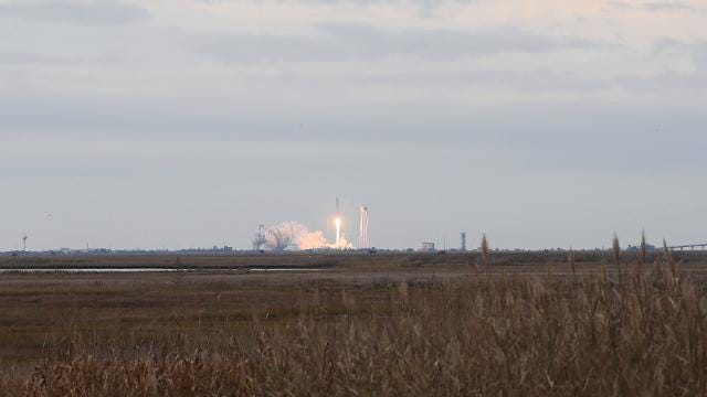 WATCH: Antares rocket launch