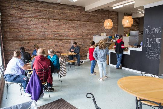 The new West Main Street location will offer coffee and ice cream in addition to pie.