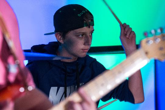 AMP Studio in downtown Salisbury offers a place to play and learn.