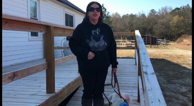 Truittwas born legally blind and has always wanted a guide dog, but hadn't seriously pursued it until now. So she applied to the program, was accepted and got paired with a male yellow Labrador, Ito.