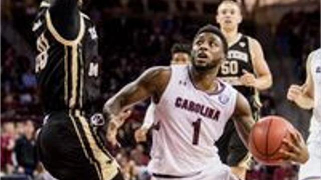 After transferring from the University of Delaware and sitting out a season, JMB grad Kory Holden is taking the court for the South Carolina Gamecocks.