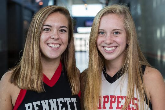 Keegan and Laney Marsh share their experience playing Field Hockey at Bennett High School.