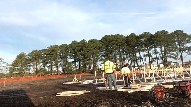 WATCH: A time lapse video of Chincoteague waterpark groundbreaking