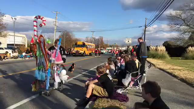 Watch: Salisbury holds Christmas Parade