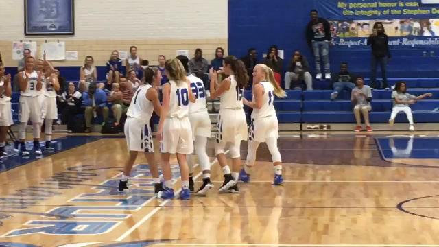Decatur senior Amya Mumford scores her 1,000th career point