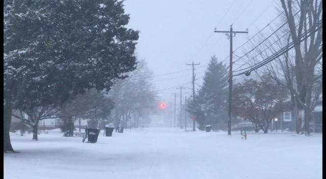 WATCH: Winter storm brings rough roads to Salisbury