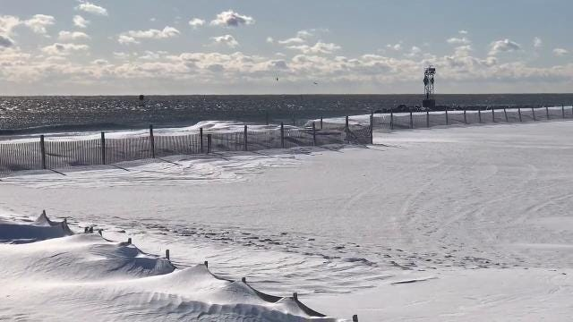 Watch: Downtown Ocean City after the blizzard