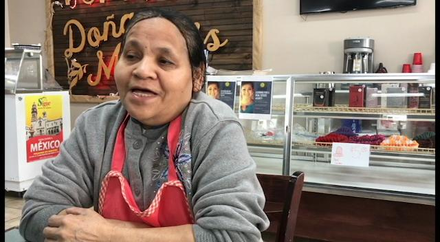 Maria Gomez shares her experience as a Salvadoran immigrant and restaurant owner.