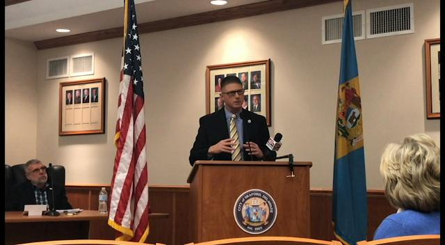 The City of Seaford announced on Tuesday, Jan. 16. that they have become the first city in Delaware to pass the right-to-work law.