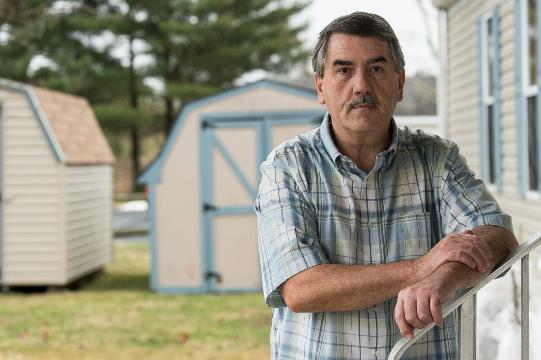 Roy Gearheart talks about how a rent increase at the Cedarhurst Mobile Home Park is affecting its residents.