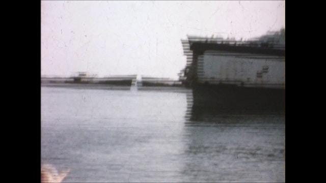 8mm footage taken around 1955 at Kiptopeke Ferry Landing shows the S.S. Pocahontas. Virginia Ferry Corporation took passengers from Cape Charles and Kiptopeke Beach across to Little Creek, Virginia. The Pocahontas was powered by two steam engines.