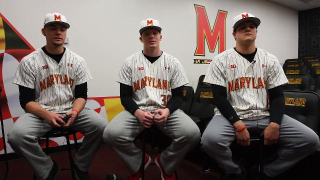 Three former Parkside pitchers talk about their experience playing for the University of Maryland.