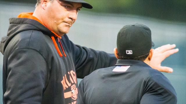 Ryan Minor will lead the Orioles' minor league club in Frederick, Maryland in 2018 after several seasons managing the Delmarva Shorebirds.