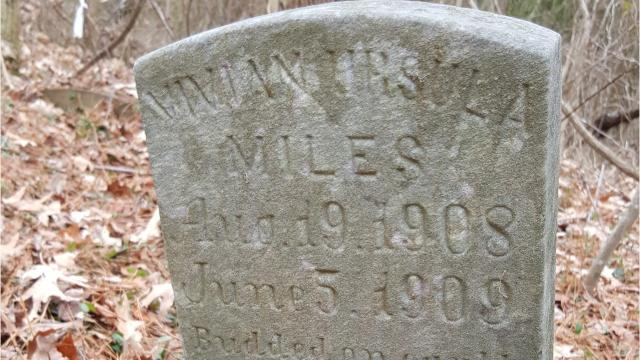 Crisfield native Joe Paden and his family are working to restore an overgrown African-American cemetery. The most recent burial appears to have taken place in 2015, but the older graves include at least one Civil War veteran. Plans include drainage, clearing, addition of walkways and appropriate markers for all graves, showing respect for the many individuals whose final resting place on Earth is Union Asbury Cemetery.
